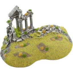 1. Produktabbildung - Hügel mit Tempelruine