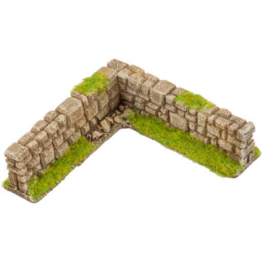 Steinmauer beige 4