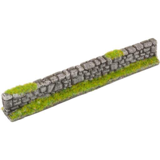 Steinmauer grau 1