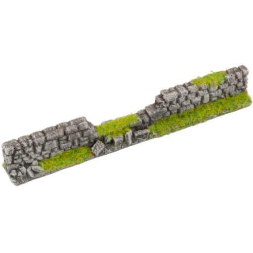 Steinmauer grau 2