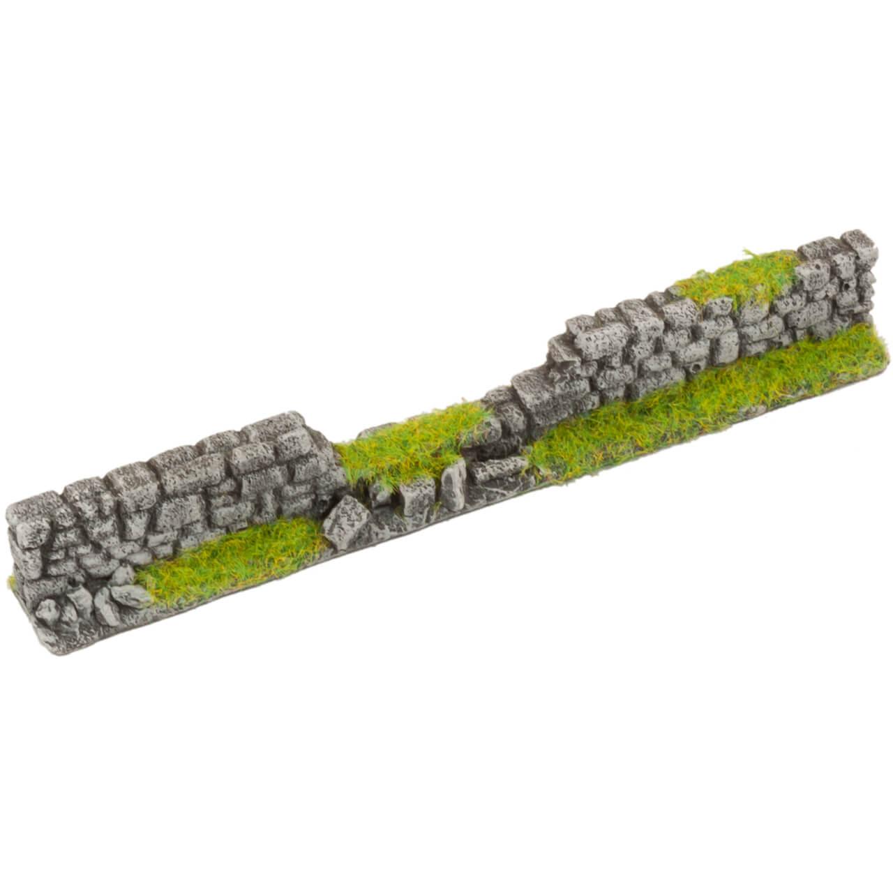 1. Produktabbildung - Steinmauer grau 2