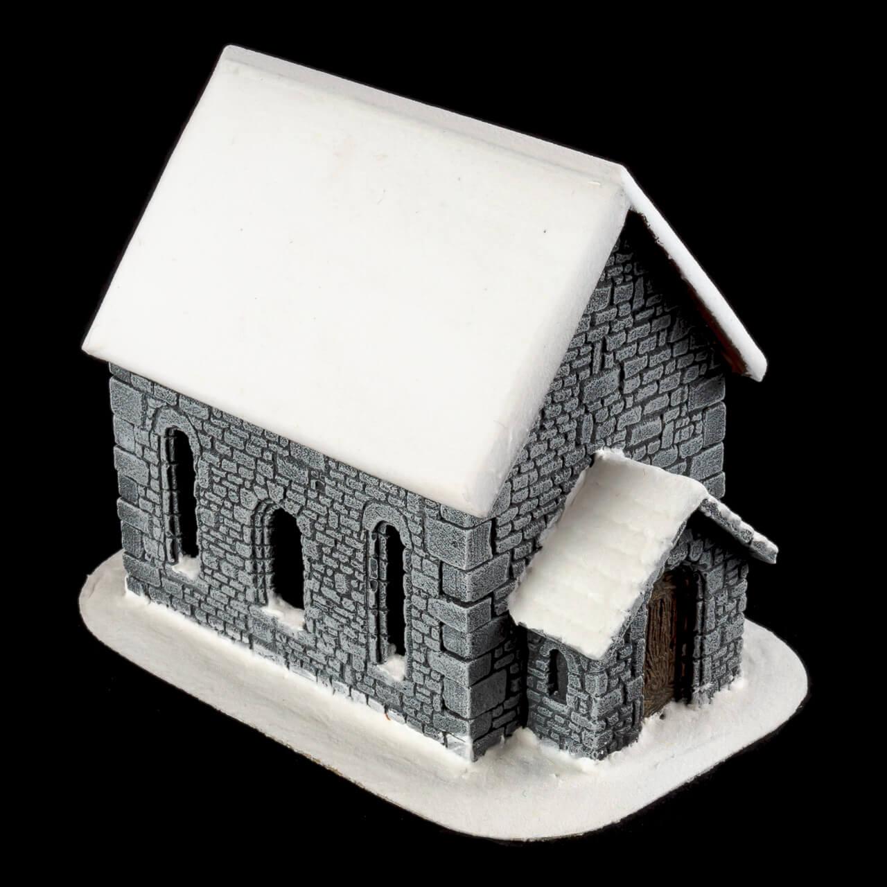 1. Produktabbildung - Schneebedeckte Kapelle