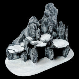 1. Produktabbildung - Große Höhle mit Schnee
