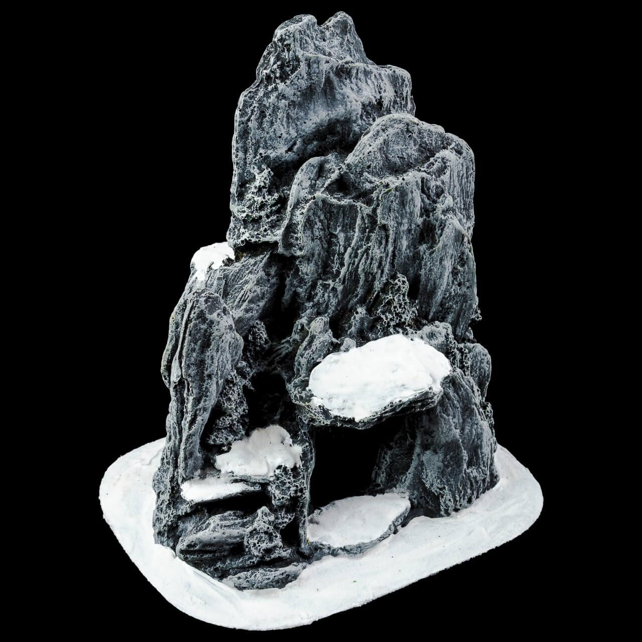 1. Produktabbildung - Kleine Höhle mit Schnee