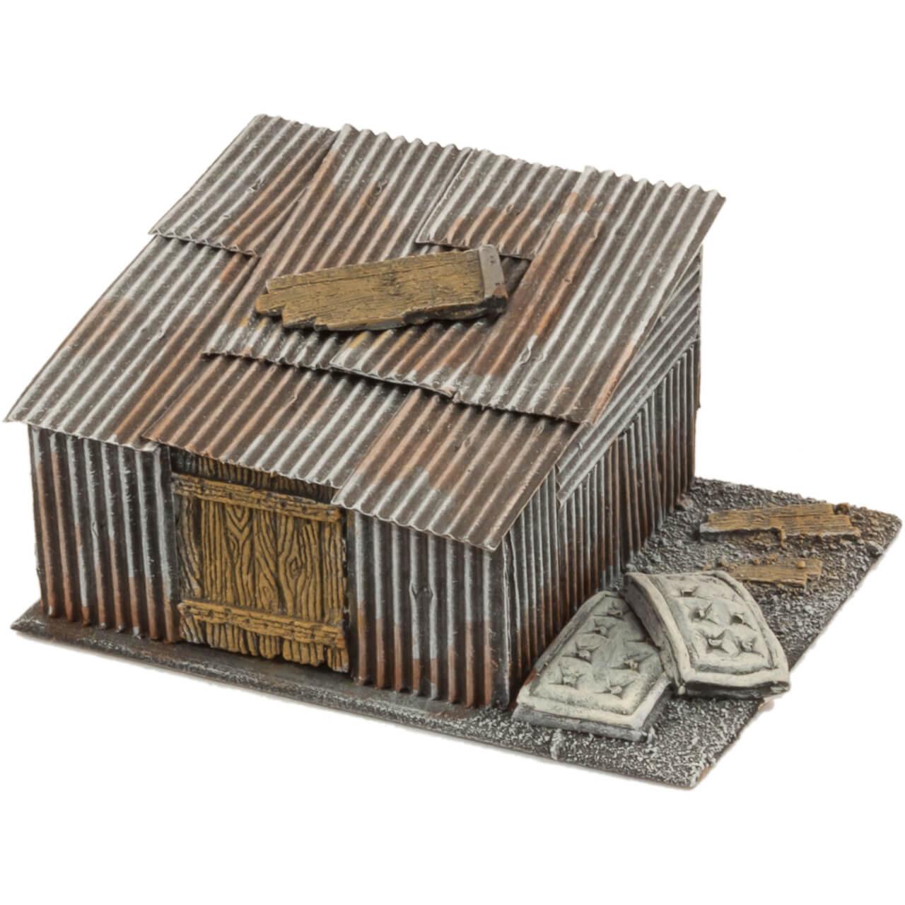 1. Produktabbildung - Slumhütte 4
