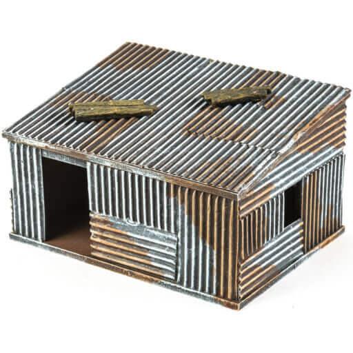 Slumhütte 8