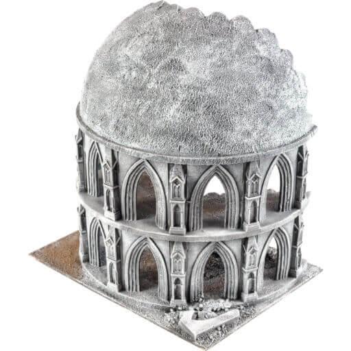 Zerstörtes Observatorium
